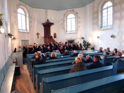 6 avril 2019 : Concert à l'Eglise de Saint-Martin de Ré